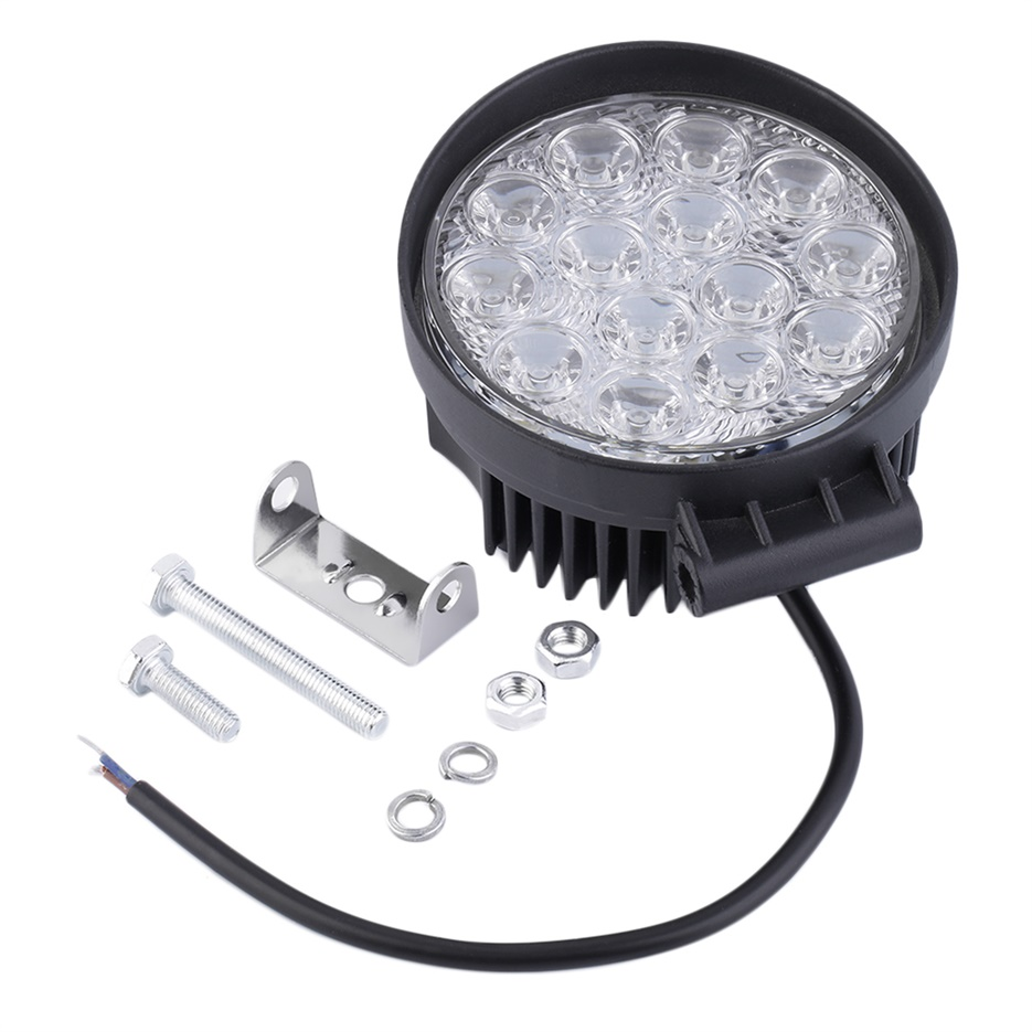 42W Auto Car LED Work Light Spot /Flood Light Lamp Offroad Vehicle ...