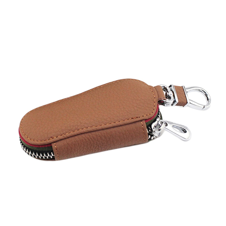 bracelet key holder universal genuine leather cowhide car key holder key 6497