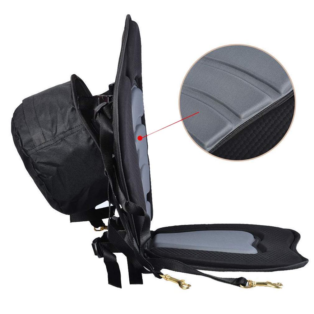 Adjustable padded deluxe kayak seat detachable back for Kayak fishing seats