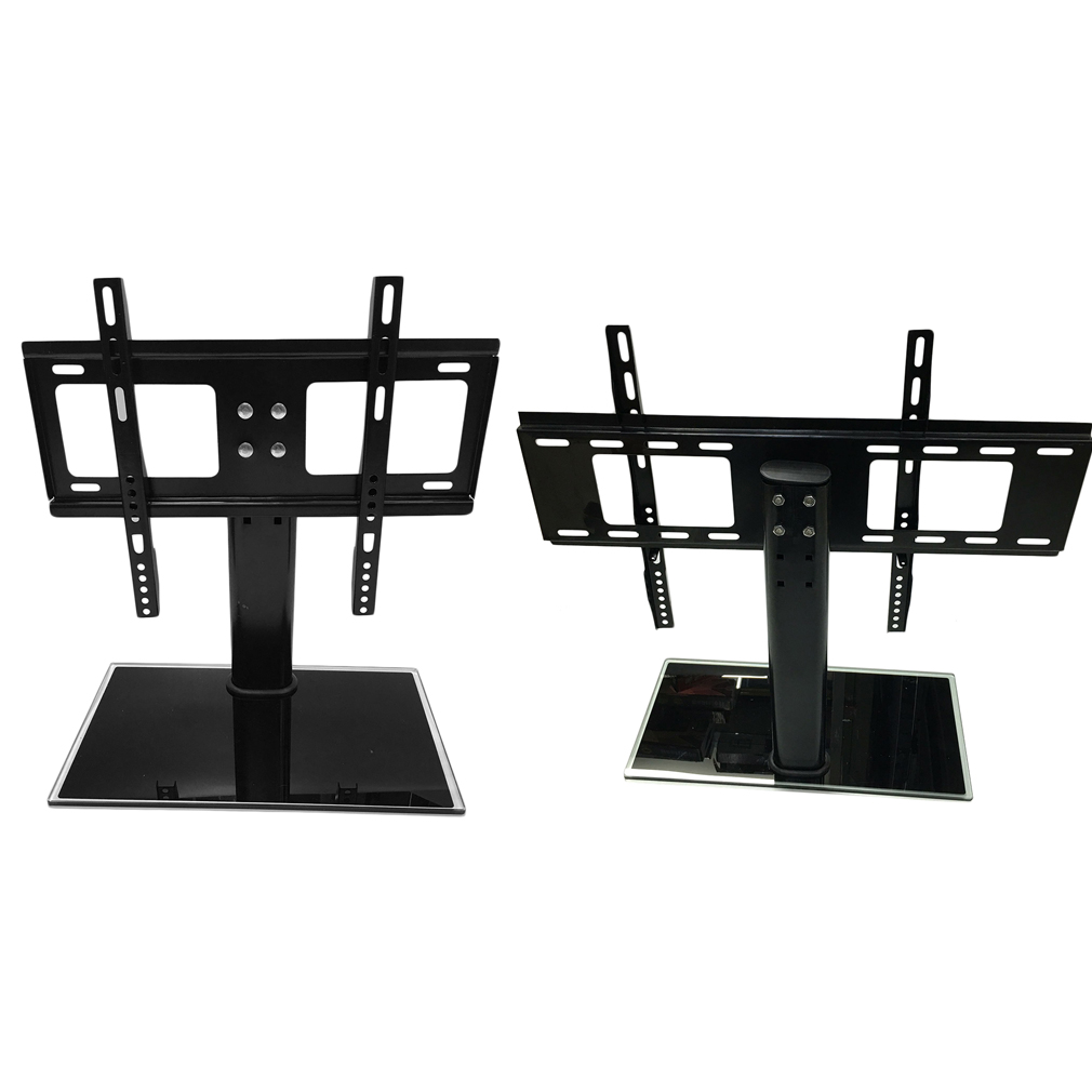 universal tv stand base for 37 55 lcd led plasma tvs tabletop stand vp. Black Bedroom Furniture Sets. Home Design Ideas