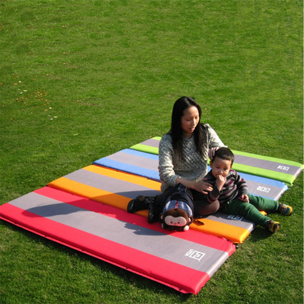 1x mat camping mattress air bed