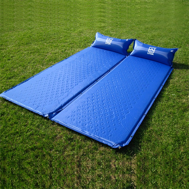 New Single Person Inflatable Mattress Camping Hiking Air ...